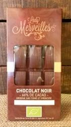 Chocolat Noir 66% origine Sào Tomé/Principe