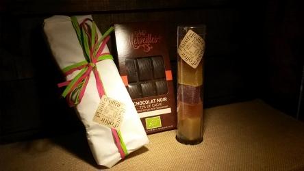 Coffret Nougat, Pâtes de Fruits et Chocolat